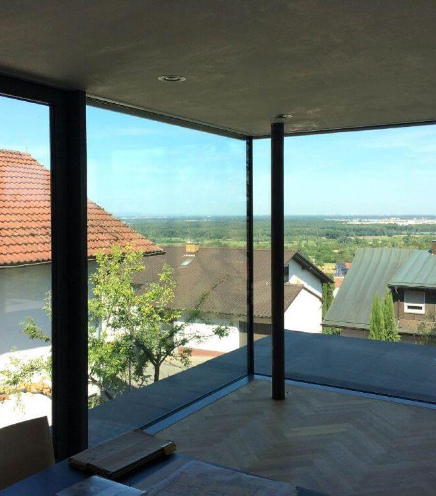 Pfosten+Riegelkonstruktion-Glasecke-Glasfassade-Malschenberg (2)